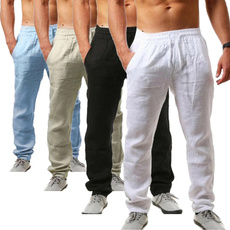 drawstringpant, elastic waist, cottonpant, Casual pants