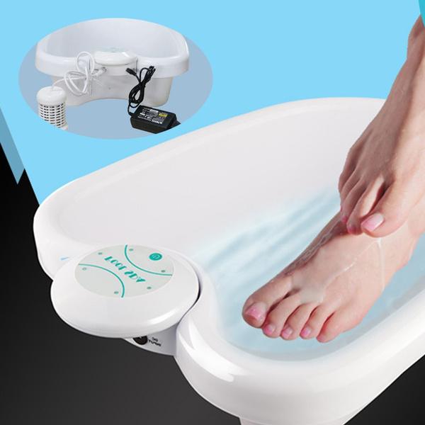 Ionic Footbath Cleanse Spa Detox Machine Electric Foot Massage Ion Ionic Detox Foot Bath Spa Machine Array Cell Cleanse Health Wish