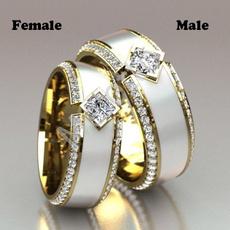 ringsformen, Ivory, DIAMOND, Infinity