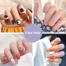 Nail salon, nail tips, 24pc, Beauty