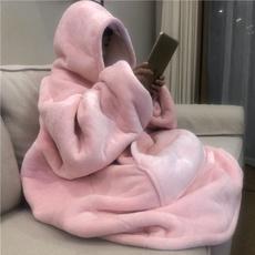 hugglehoodieblanket, Flanela, hooded, hooededcoat