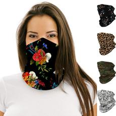 Mujer, Beanie, Moda, Floral print
