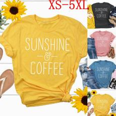 cute, Coffee, Fashion, letter print