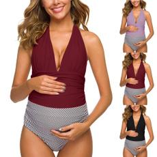 Summer, Fashion, beach wear, maternity bikini