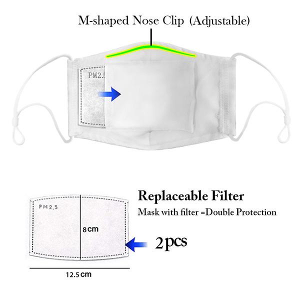 Protective, mouthmask, valve, Masks