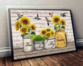 Sunflowers, Posters, sunshine, Paper