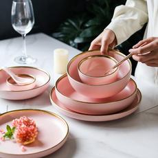 pink, golden, Home Supplies, Kitchen