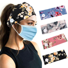 facemaskholder, Yoga, Beauty, buttonheadband