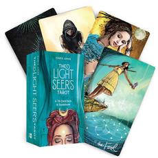 card game, Family, tarot, lights