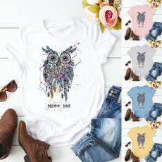 Owl, Plus Size, dreamshirt, Women Fashion