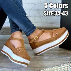 Summer, Plus Size, Platform Shoes, Fashion