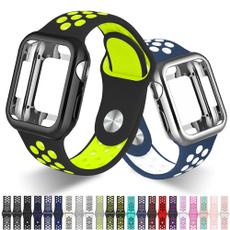 case, iwatchseries5band, Apple, sportsiliconeiwatchband