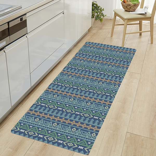 National Bohemian Design Non Slip And Soft Area Rug Runner Rug Kitchen Bathroom Floor Rug Bedroom Rugs Wish