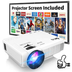 upgraded, projector, Hdmi, TV