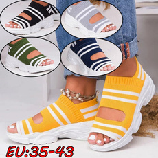 sportsandal, ladyshoe, Sandals, flyingwovensandal
