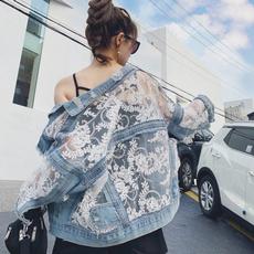 Blues, Fashion, Lace, Coat