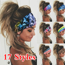 3dheadband, Fashion, Yoga, Elastic