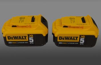 Batteries, Battery, dewalt, lithiumbattery