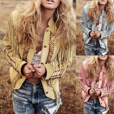 Jacket, Tassels, Fashion, Blazer