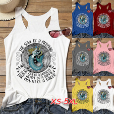 Summer, Vest, Fashion, Cotton Shirt