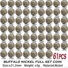 usacommemorativecoin, 21mmnickelcoin, nickel, usabuffalocoin