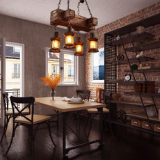 pendantlight, coffeeshoplight, Home Decor, Wooden