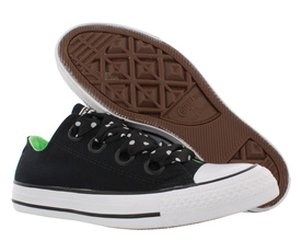 blackillusiongreenwhite, Star, Womens Shoes, Fashion