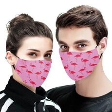 cottonfacemask, Fashion Accessory, flamingo, antidust