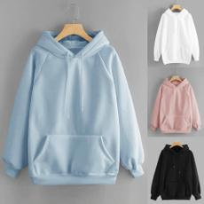 hooded, Shirt, Sleeve, Long Sleeve