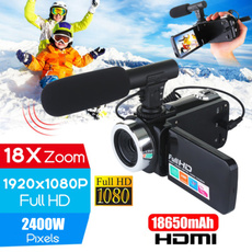 Microphone, Touch Screen, videorecorder, hdvideocamera