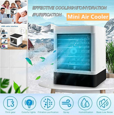 Mini, humidification, portablefan, usb