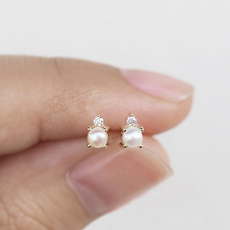 earrings jewelry, DIAMOND, Jewelry, Pearl Earrings