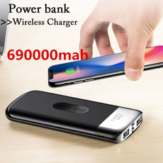 lcdpowerbank, qicharger, Powerbank, Wireless charger