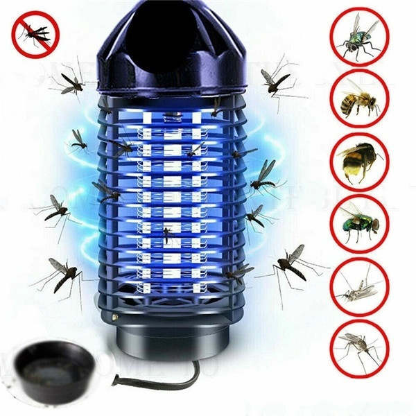 Electric UV Mosquito Killer Lamp Outdoor Indoor Fly Bug Insect Zapper Trap USB