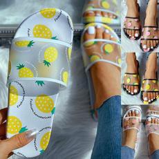 Sandals & Flip Flops, slideslipper, flatslipper, Outdoor