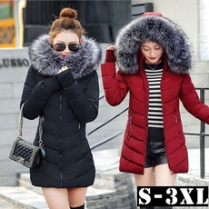 hooded, Winter, hoodedjacket, Coat