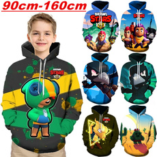 Funny, hooded, kids clothes, 3D hoodies