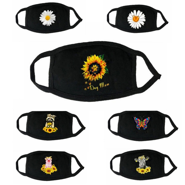 cottonfacemask, sexy, Fashion, Sunflowers
