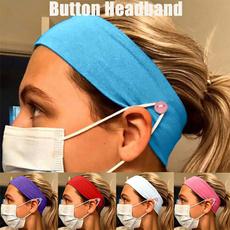 stretchheadband, Beauty, Masks, button