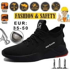 Steel, safetyshoe, Fiber, Men's Fashion