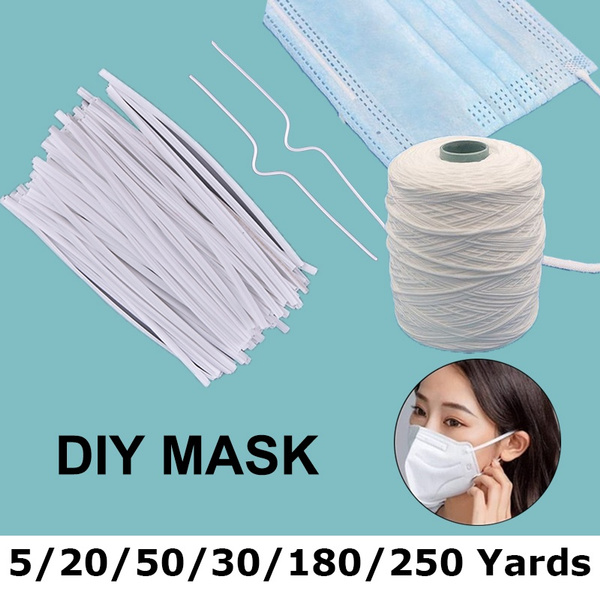 40 100 1000pcs Face Mask With Lanyard Sub Strap Adjustable Elastic
