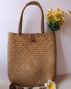 Shoulder Bags, strawtotehandbag, strawbag, Totes