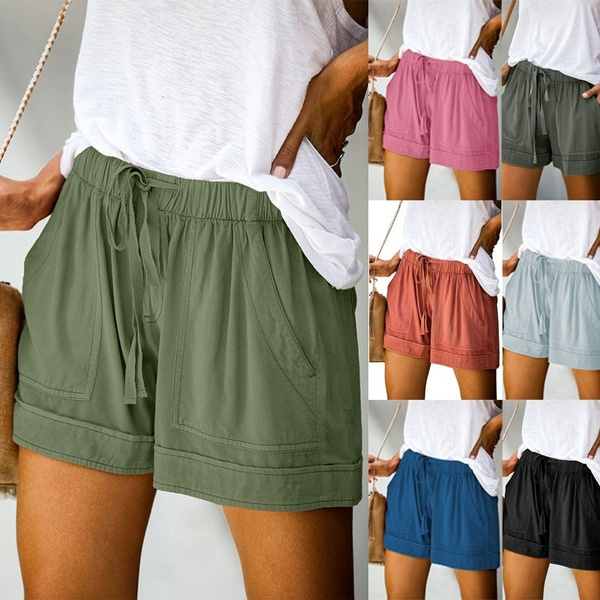 Summer, Women, Shorts, pants