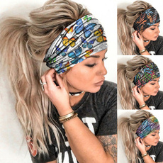 3dheadband, Fashion, Yoga, Elastic