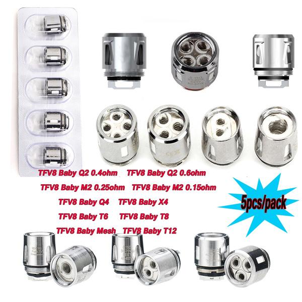 Tfv8 Baby Beast Coils For Smok Tfv12 Baby Prince Tfv8 Baby Big Baby Tank V8 Baby Q4 Q2 M2 X4 T8 T6 T12 Mesh Coil Wish