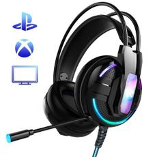 Headset, Microphone, led, gamingheadset