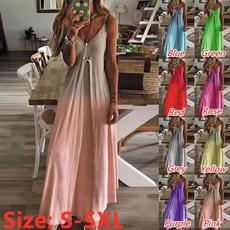 Mini, Fashion, Summer, long dress