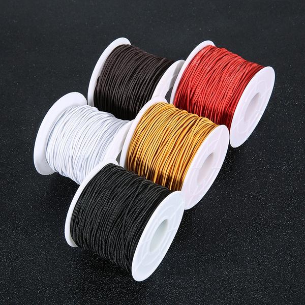1roll Lot Diameter 0 8 1 1 2 1 5mm Nylon Cord Elastic Cord