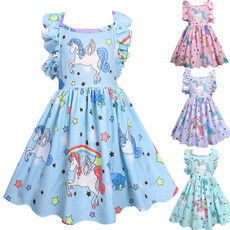 Summer, Fashion, ruffle, unicorndre