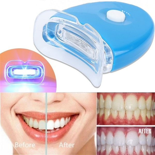 Teeth Whitening Universal Small Blue Light Oral Care Teeth Whitening Lamp Wish